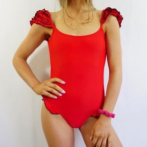 NWT Red One Piece